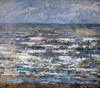 Toorop Jan The sea Sun
