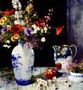 Pierre Tougas Fleurs, fruits et argenterie, De