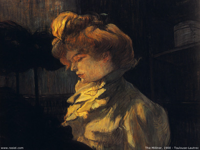 Henri Toulouse Lautrec The milliner