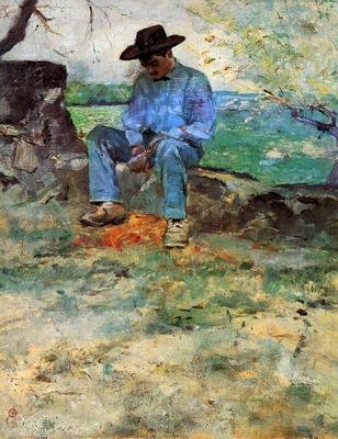 Toulouse Lautrec de Henri Young Routy in Celyran Sun