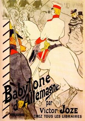 lautrec babylone dallemagne poster for the german babylon