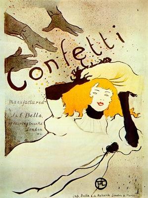 lautrec confetti poster
