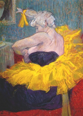 lautrec the clownesse cha u kao at the moulin rouge ii