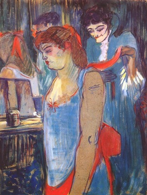 lautrec the tattooed woman