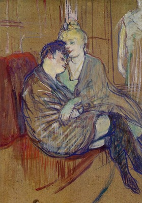 toulouse lautrec two girlfriends
