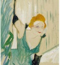 toulouse lautrec yvette guilbert greeting the audience,