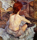 Toulouse Lautrec de Henri After bathing Sun