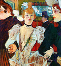 Toulouse Lautrec de Henri Entering Moulin Rouge Sun