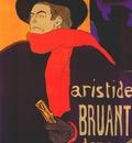 lautrec ambassadeurs, aristide bruant poster