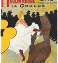 lautrec moulin rouge, la goulue poster