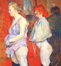 lautrec rue des moulins, the medical inspection