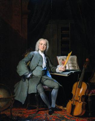 Troost Cornelis Music lover Sun