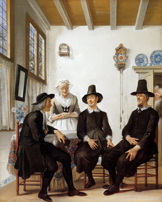 Troost Cornelis The Marriage Proposal To Saartje Jans Sun