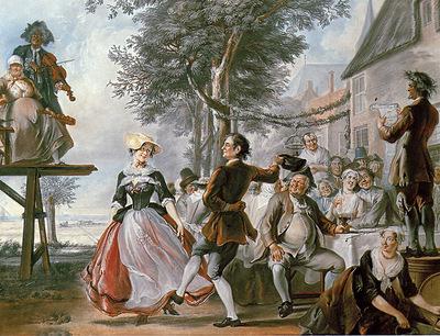 Troost Cornelis The Wedding Of Kloris And Roosje 2 Sun