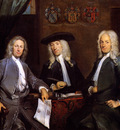 Troost Cornelis Three of Surgeons guild Sun