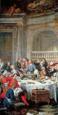 Troy de Jean Francois The oyster meal Sun