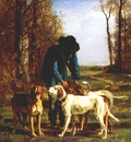 troyon hunter with his dogs