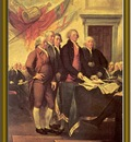 j  trumbull decl  of the independence 1786 97 po amp