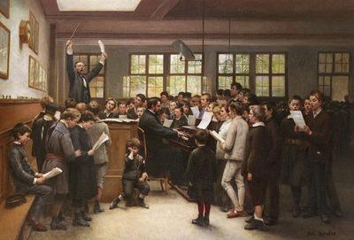 Trupheme Auguste Joseph The Choir Lesson
