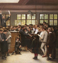 Trupheme Auguste Joseph The Choir Lesson