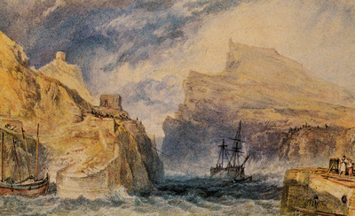 Turner Joseph Mallord William Boscastle Cornwall