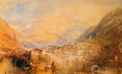 Turner Joseph Mallord William Brunnen from the Lake of Lucerne