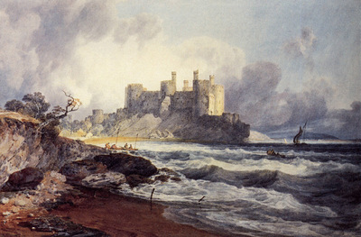 Turner Joseph Mallord William Conway Castle