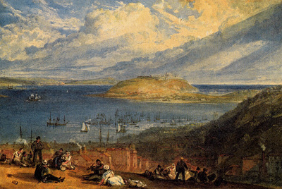 Turner Joseph Mallord William Falmouth Harbour Cornwall