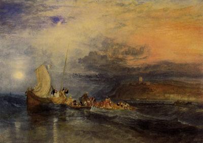 Turner Joseph Mallord William Folkestone from the Sea