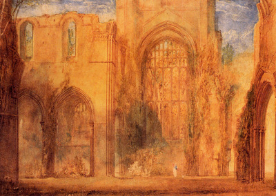 Turner Joseph Mallord William Interior of Fountains Abbey Yorkshire