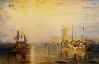 Turner Joseph Mallord William Sunrise  Whiting Fishing at Margate