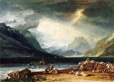 Turner Joseph Mallord William The Lake of Thun Switzerland