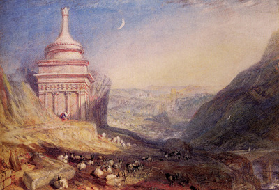 Turner Joseph Mallord William Valley of the Brook Kedron