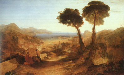 Turner Joseph The Bay of Baiae with Apollo and the Sibyl