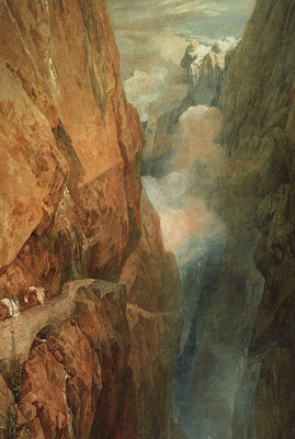 turner joseph the passage of the st  gothard