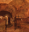 Turner Joseph Mallord William A Canal Tunnel Near Leeds