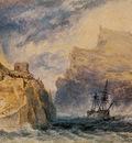 Turner Joseph Mallord William Boscastle Cornwall