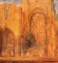 Turner Joseph Mallord William Interior of Fountains Abbey Yorkshire