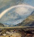 Turner Joseph Mallord William Kilchern Castle with the Cruchan Ben mountains Scotland Noon