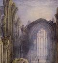 Turner Joseph Mallord William Melrose Abbey