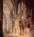 Turner Joseph Mallord William St  Erasmus in Bishop Islips Chapel Westminster Abbey