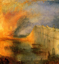 Turner Joseph Mallord William The Burning of the Hause of Lords and commons