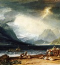 Turner Joseph Mallord William The Lake of Thun Switzerland