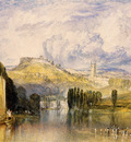 Turner Joseph Mallord William Totnes in the River Dart