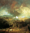 Turner Joseph The fifth plague of Egypt Sun