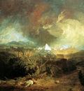 Turner Joseph The fifth plague of Egypt Sun