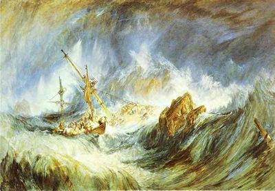 William Turner A Storm Shipwreck