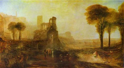 William Turner Caligulas Palace and Bridge