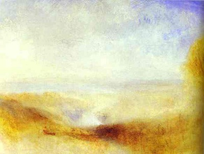 William Turner Landscape with a River and a Bay in the Background