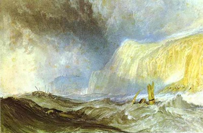 William Turner Shipwreck off Hastings